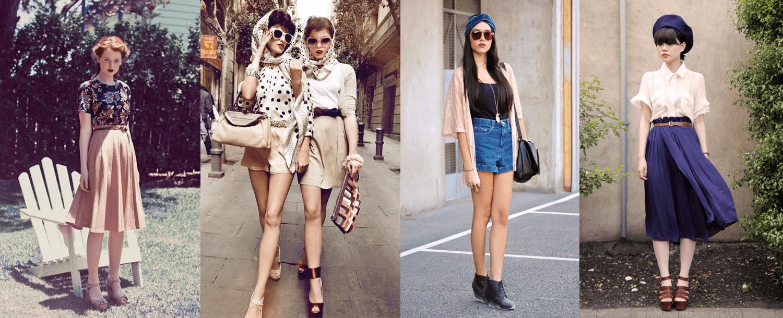 Vintage Fashionistas