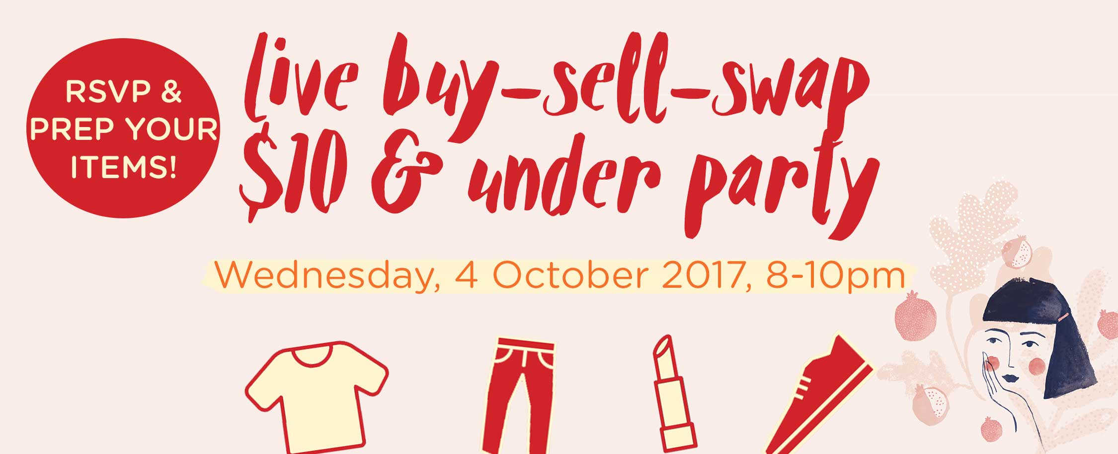 Live Buy-Sell-Swap Party! 4th Oct, 8pm (GMT -4)