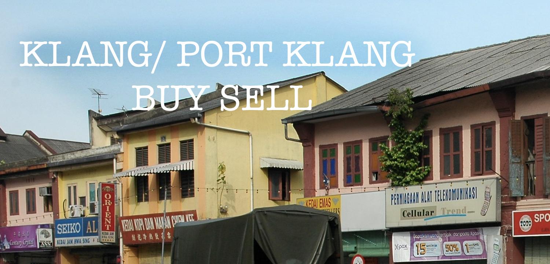 Klang / Port Klang Buy & Sell