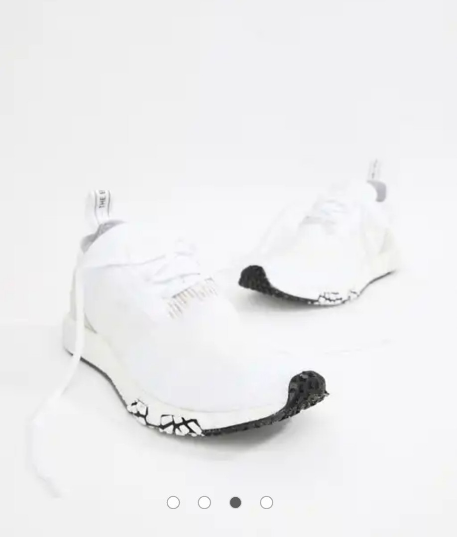 a9131b119 wts adidas Originals NMD Racer PK Trainers In White B37639