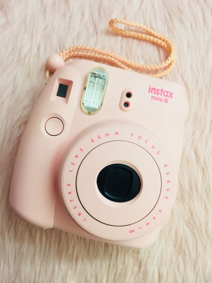 Instax mini 8 (with case)