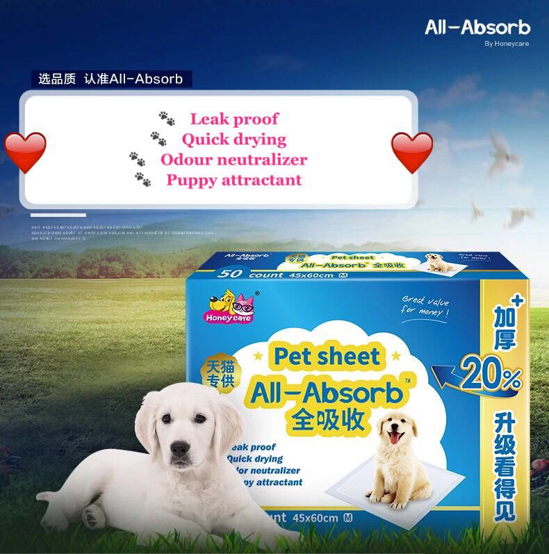 Pee pads for your beloved pets!