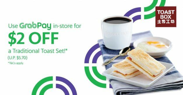 $3.70 traditional Toast Box set if you pay with GrabPay!