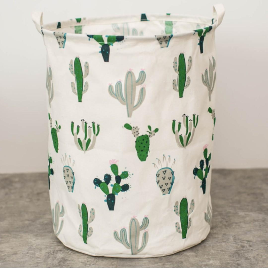 Cactus Laundry Bag