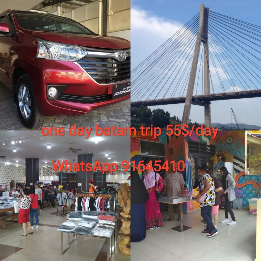 batam transport all have you can shopping