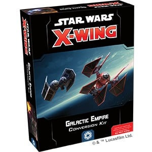 X-wing miniatures 2nd edition conversion kits and core set