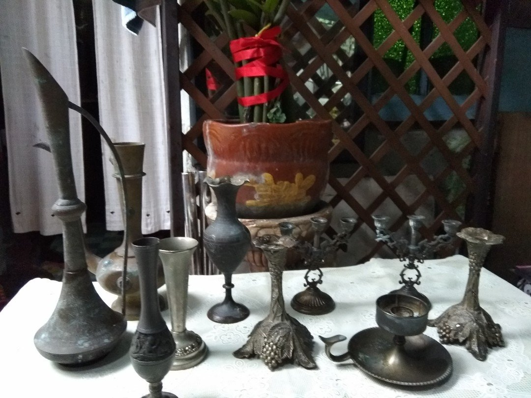 candle holders & vases