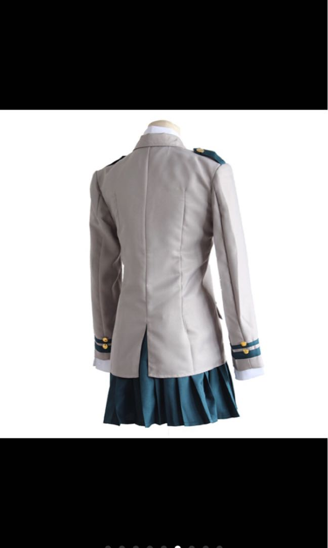 Reselling my BNHA cosplay female UA uniform