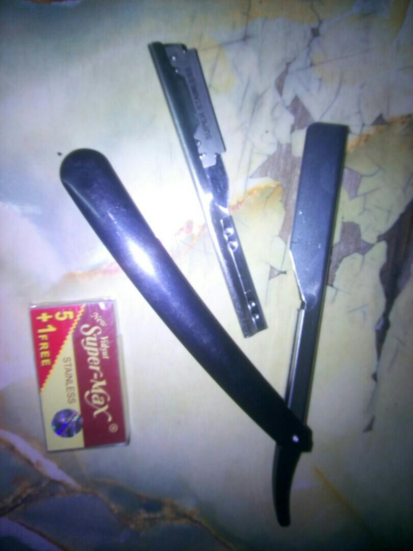 Pisau Cukur Razor Blade Buy 1 Get Free Asahan Super Tajam Knife Sharpener With