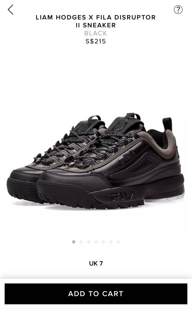 FILA Disruptor 2 X Liam Hodges STEAL PRICE