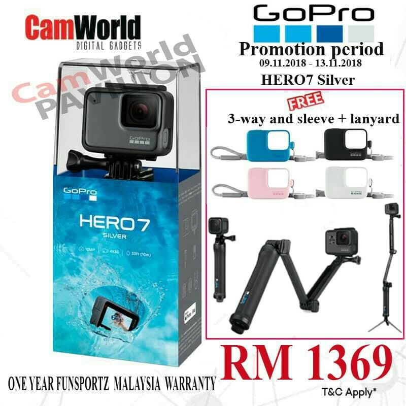 gopro hero 7 white bundle