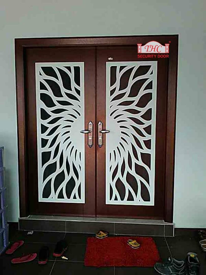 THC SECURITY DOOR MELAKA KLEBANG