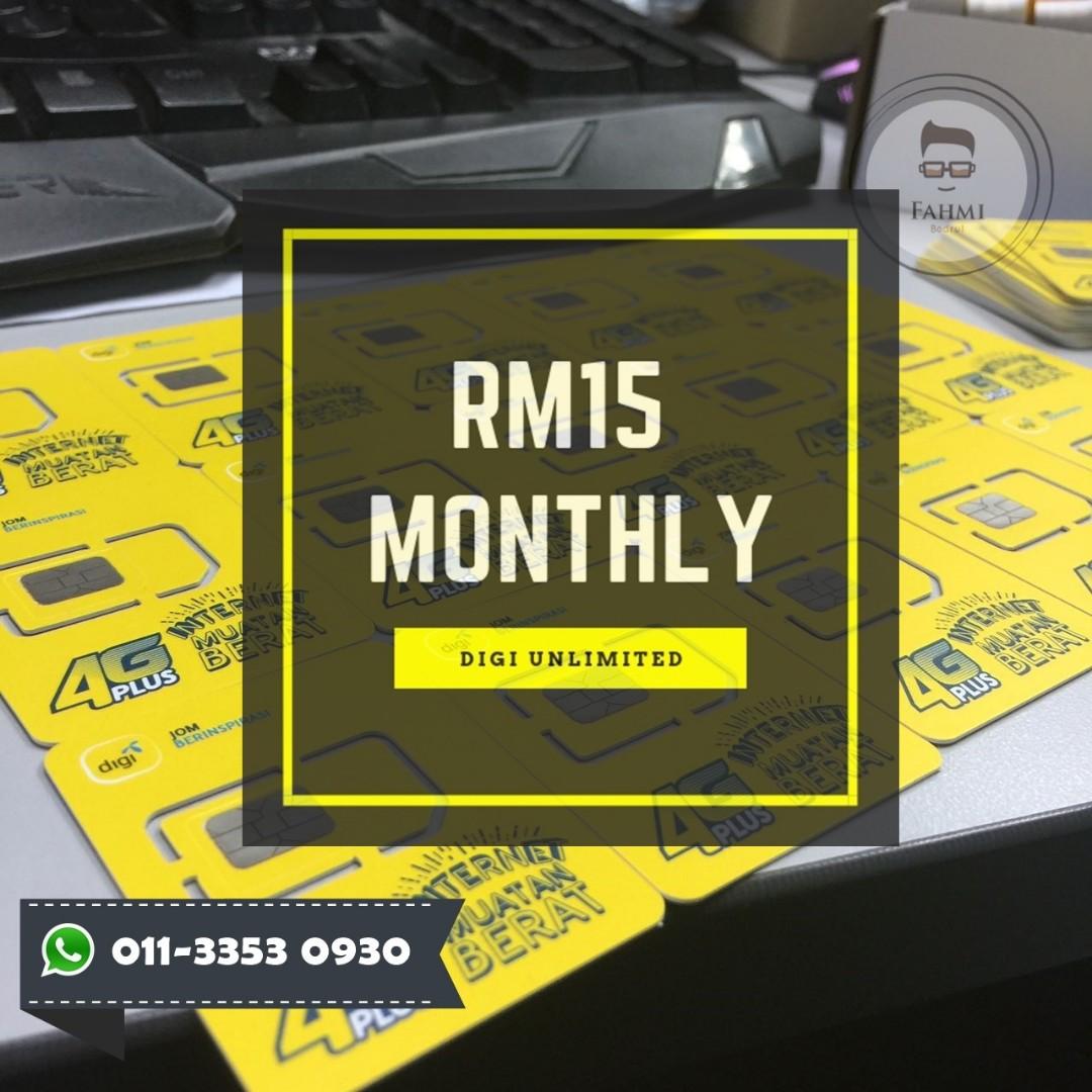 DIGI RM15 / MONTHLY INTERNET