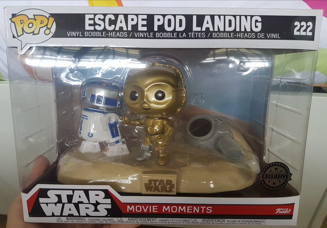 Funko POP Star Wars Movie Moment: Escape Pod Landing #222