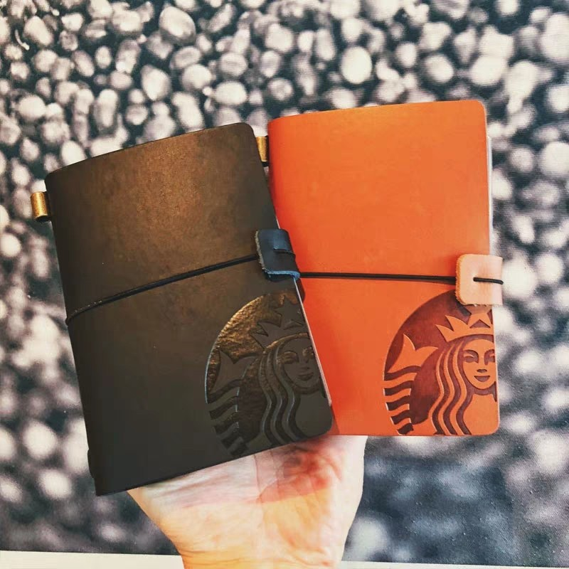 STARBUCKS Journal with Card Collector Slots