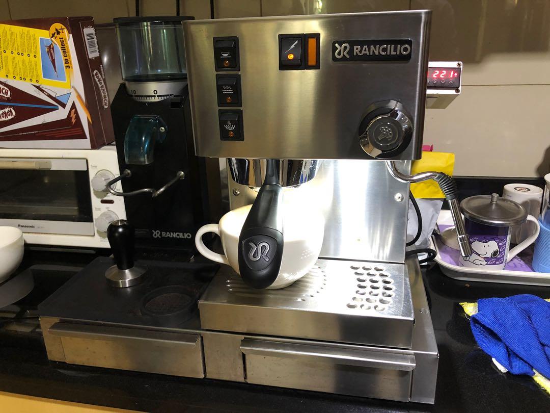 Show your espresso machine setup