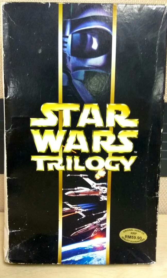 Original STAR WARS TRILOGY - 1997 Special Edition (VCD)