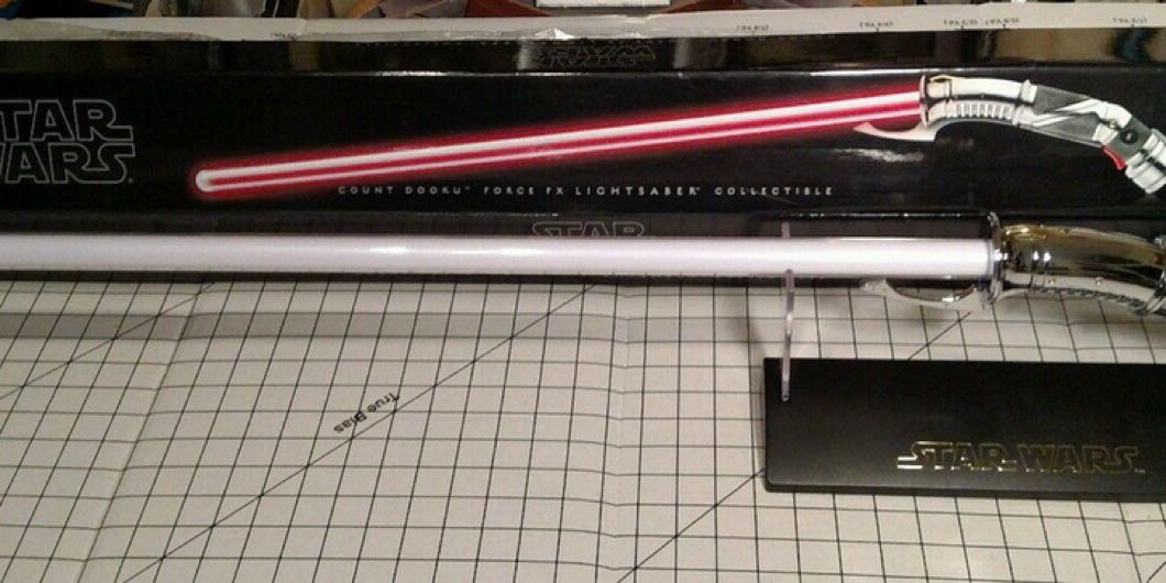 Rare Force fx Signature series - Count Dooku Lightsaber anyone?
