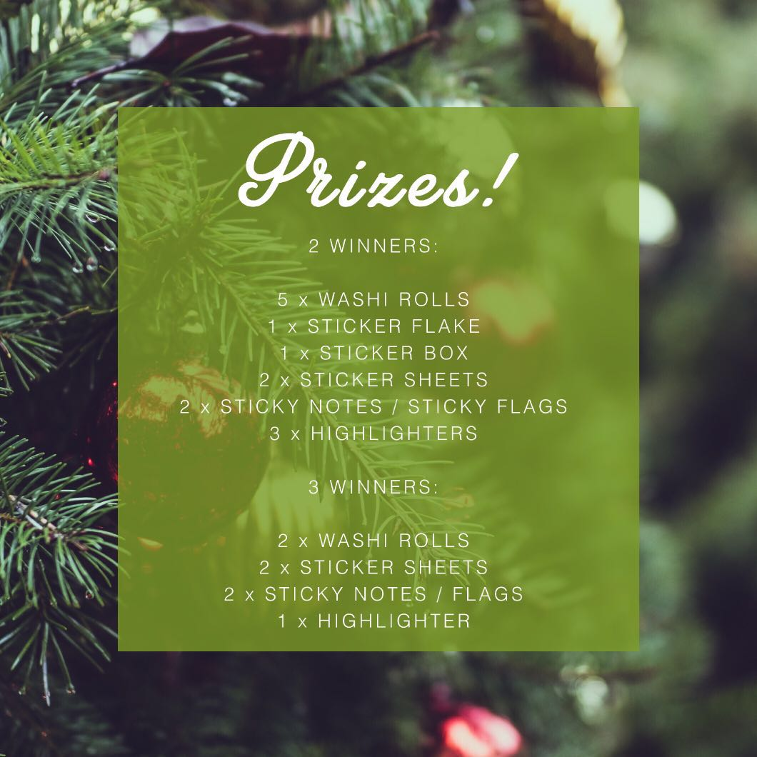 FREE bujo christmas giveaway 🎄🎅🏼