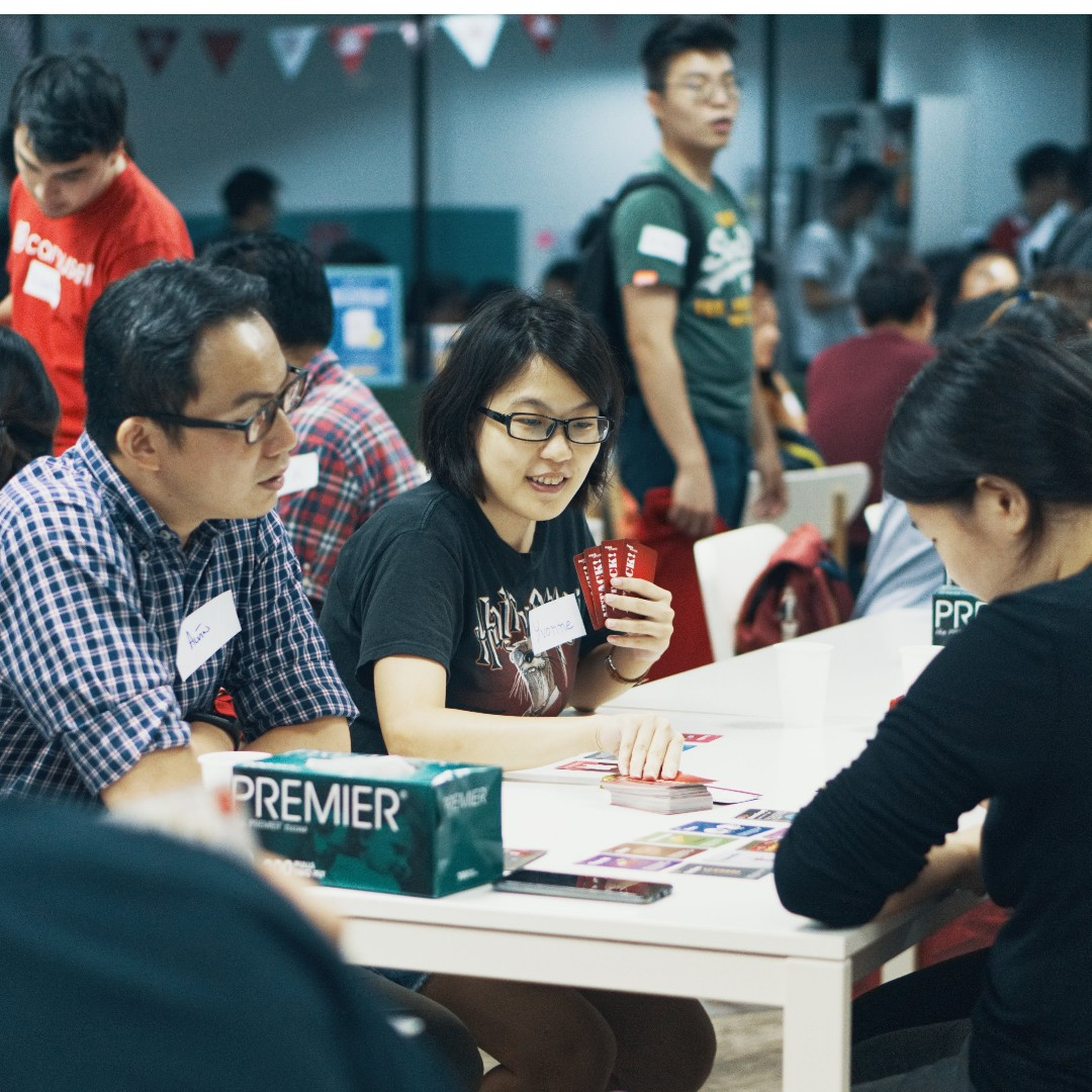 Carousell Board Game event Feedback