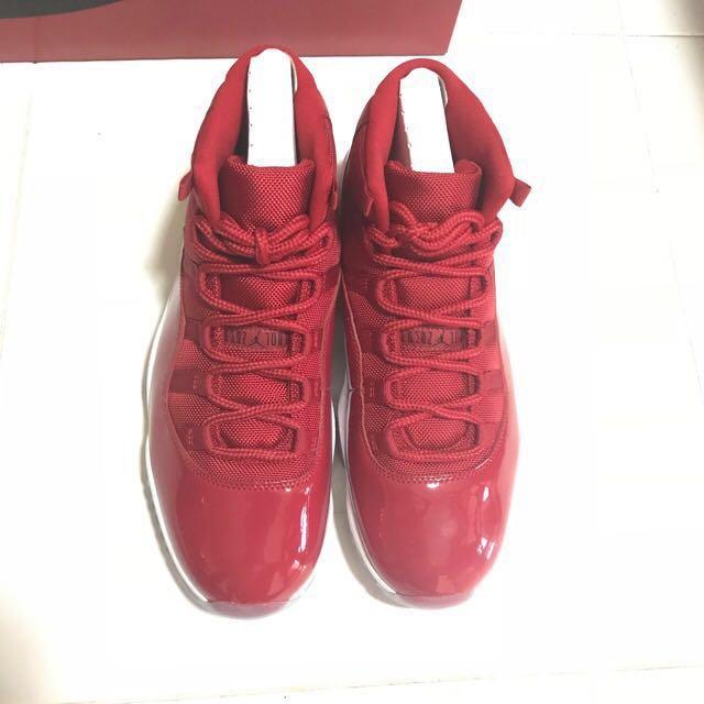 """Air Jordan 11 Retro """"Win like 96"""" BNDS US 10"""