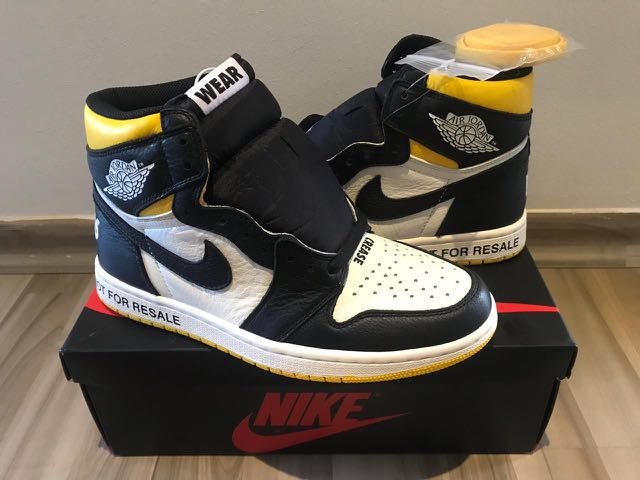 """LC """"Not for Resell"""" Jordan 1"""
