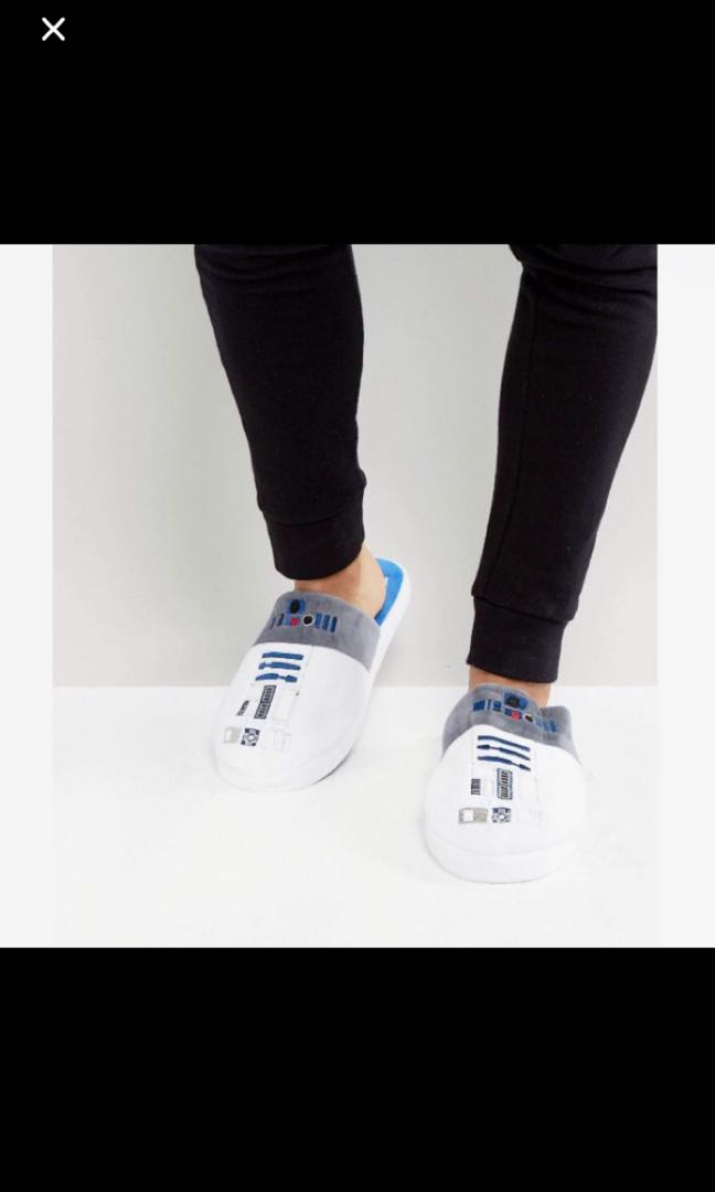 Selling r2d2 or stormtrooper slippers!