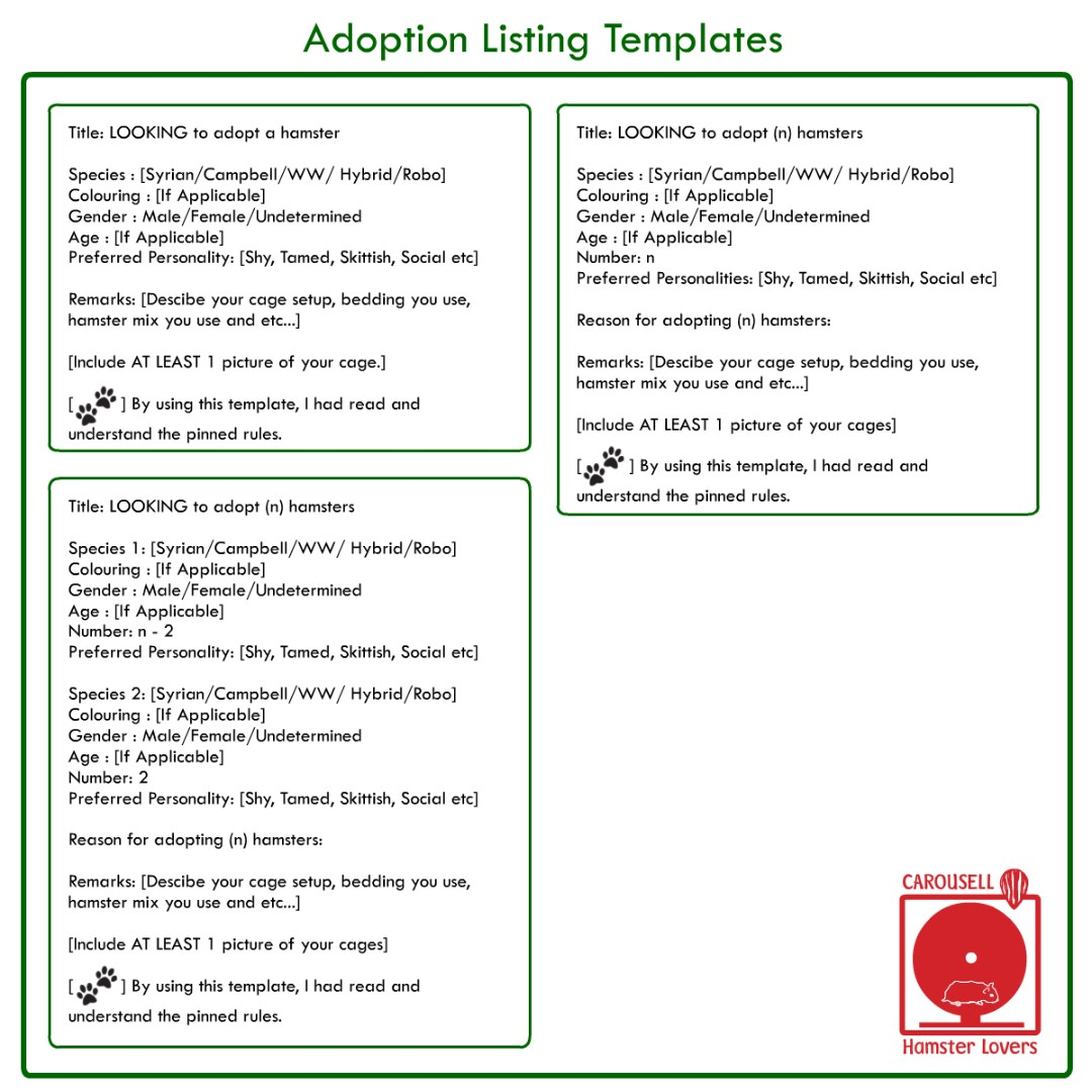 🚦General Rules, Adoption Rules, Screen Options