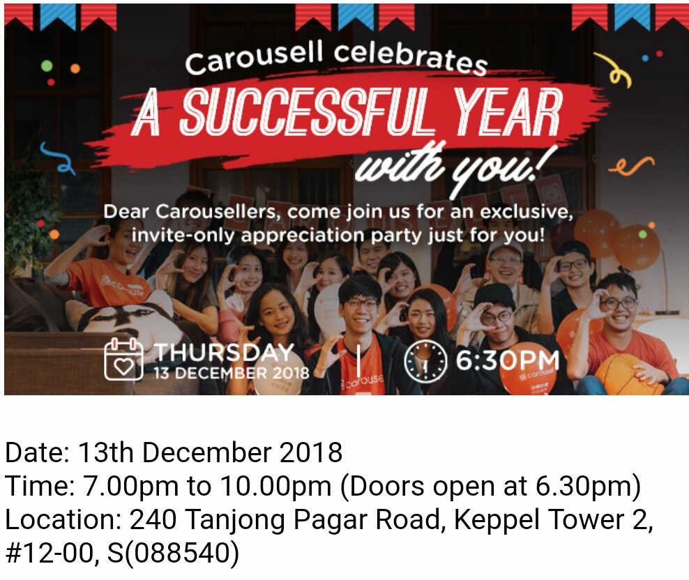 Carousell Party