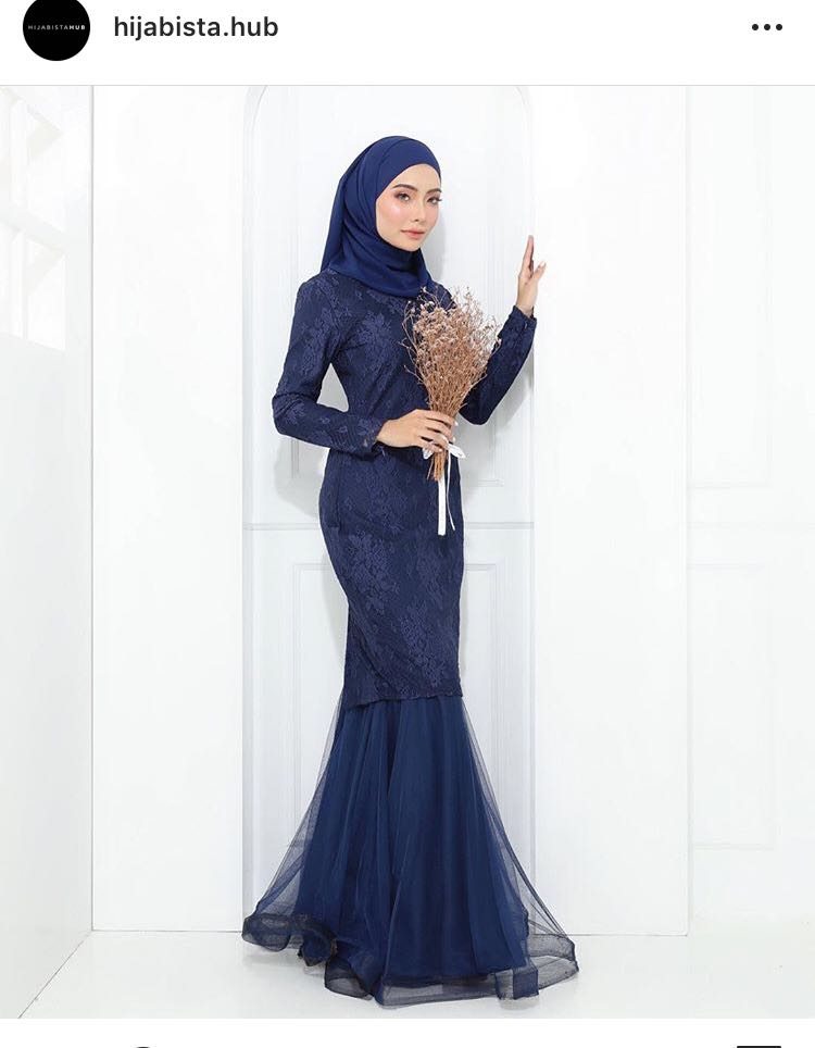 Carla luxe baju kurung