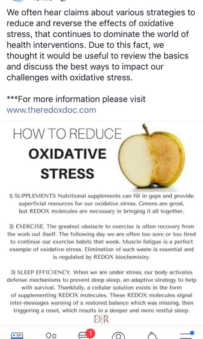 What is Oxidative stress and how to reduce it!