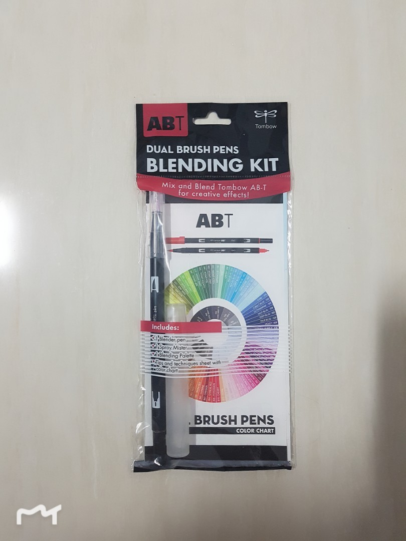 tombow brush pens blending kit /set