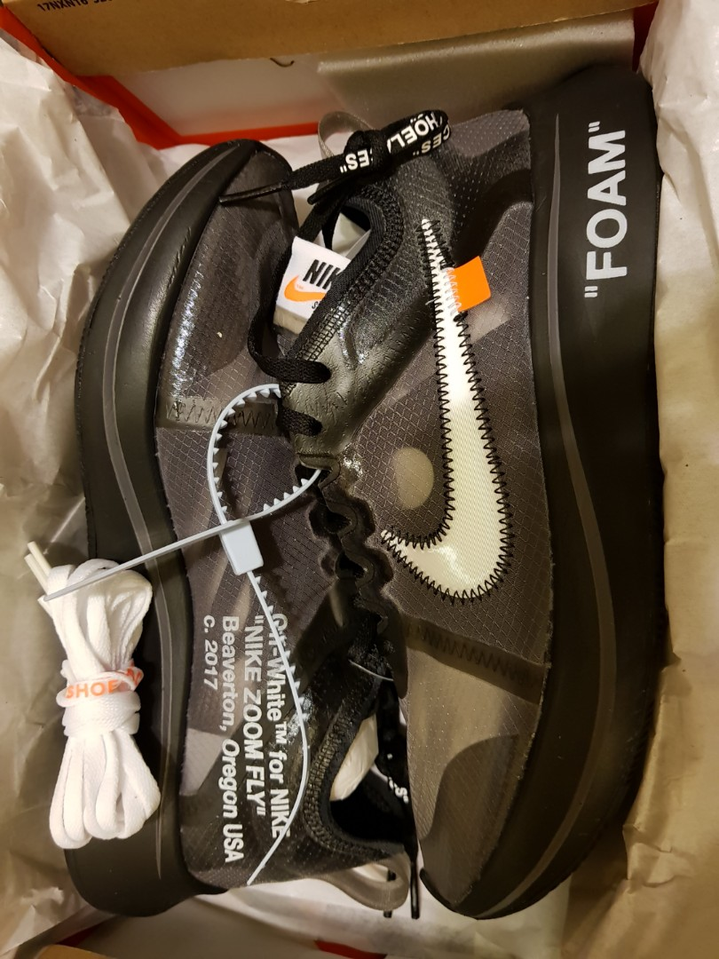 Selling Off White Zoom Fly Black