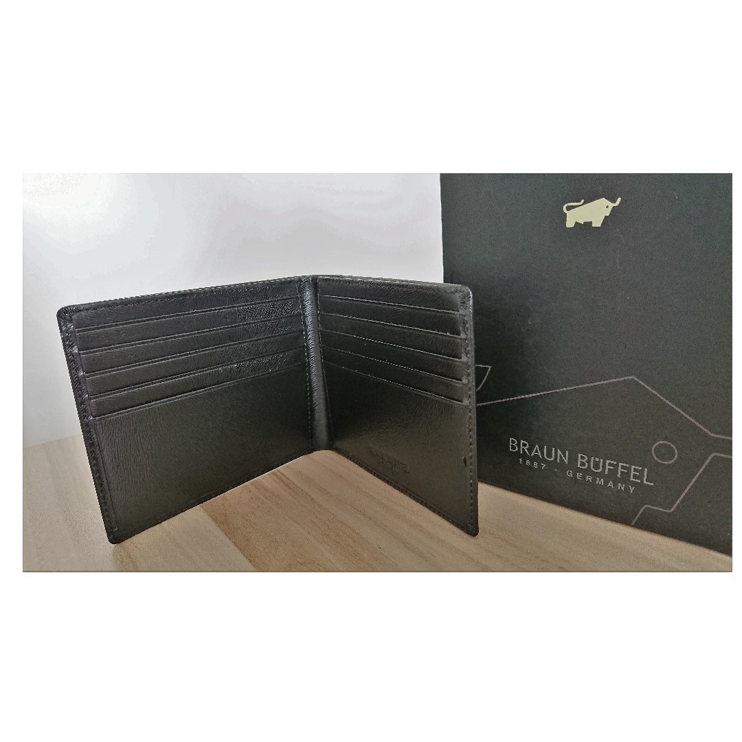 Braun Buffel 10 cards Wallet (Authentic)