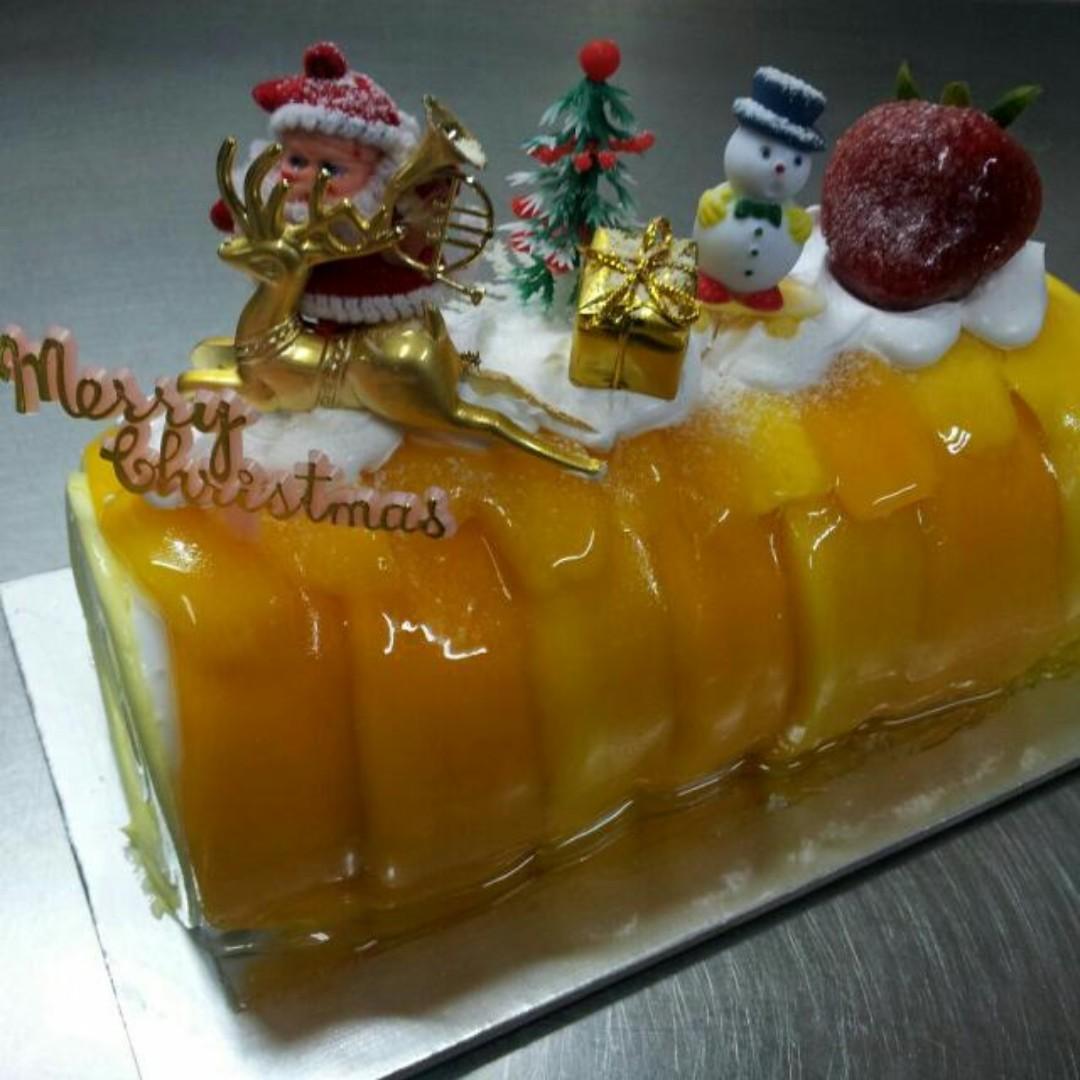 Christmas Logcake (FREE DELIVERY 23 & 24 December 2018)