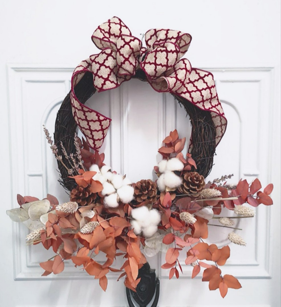 Christmas Wreath available for purchase from $30 onwards!