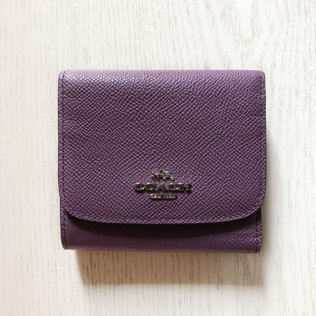 $35 Authentic Mauve Coach wallet