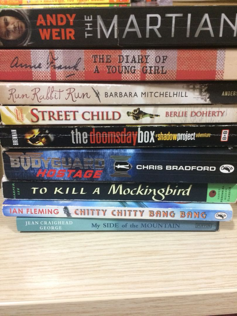 CHEAP BOOKS FOR SALE !!!