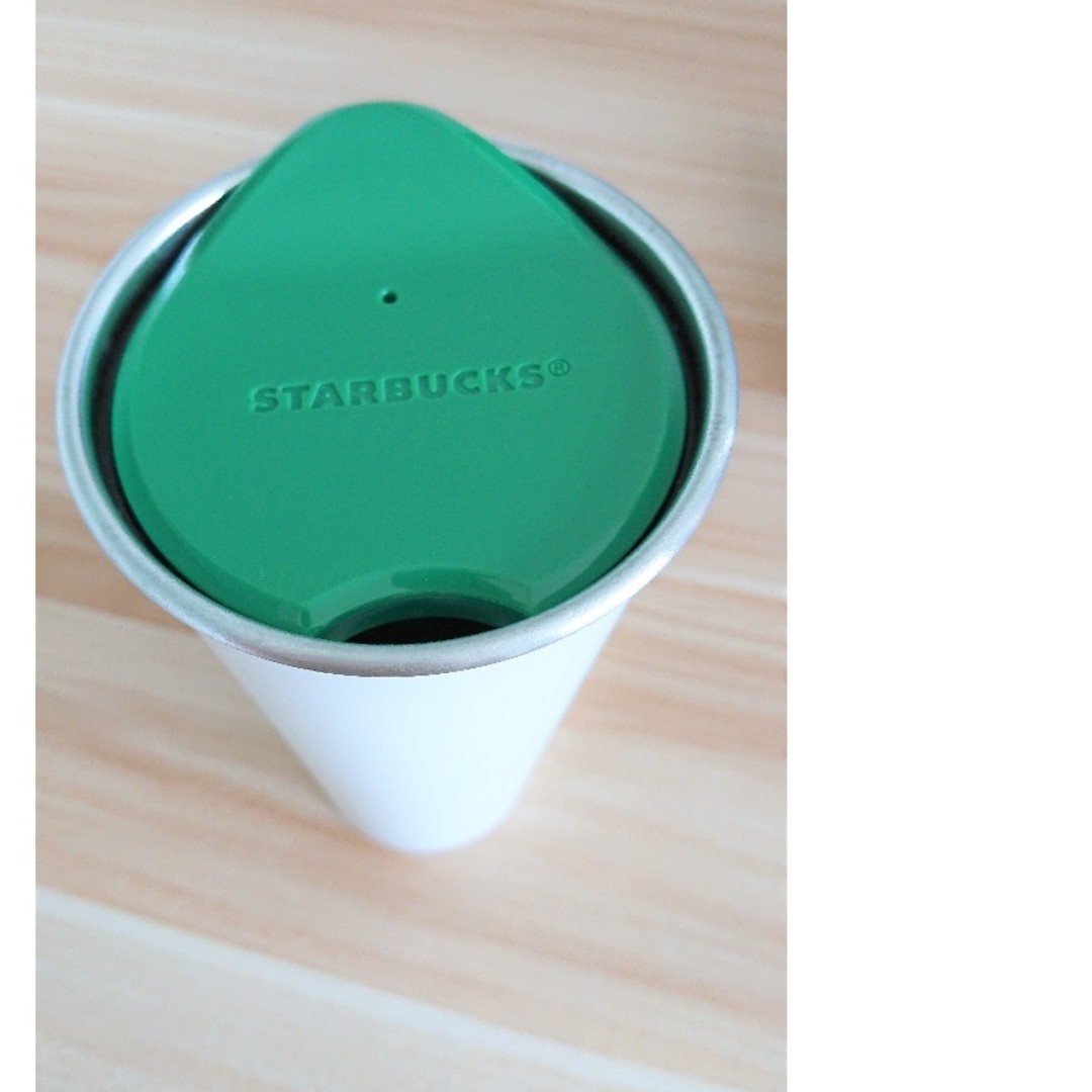 Starbucks Heritage 1971 Pearl White Stainless Steel Tumbler (Anniversary Commemorative Edition)