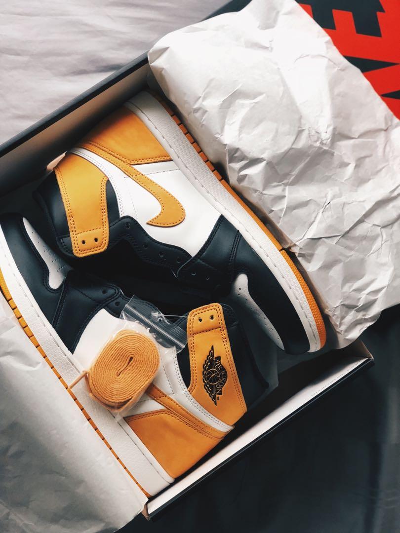 [Christmas Sale] Jordan 1 Retro High Yellow Ochre US11