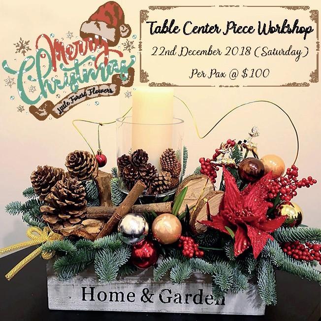 Christmas Center Piece Workshop