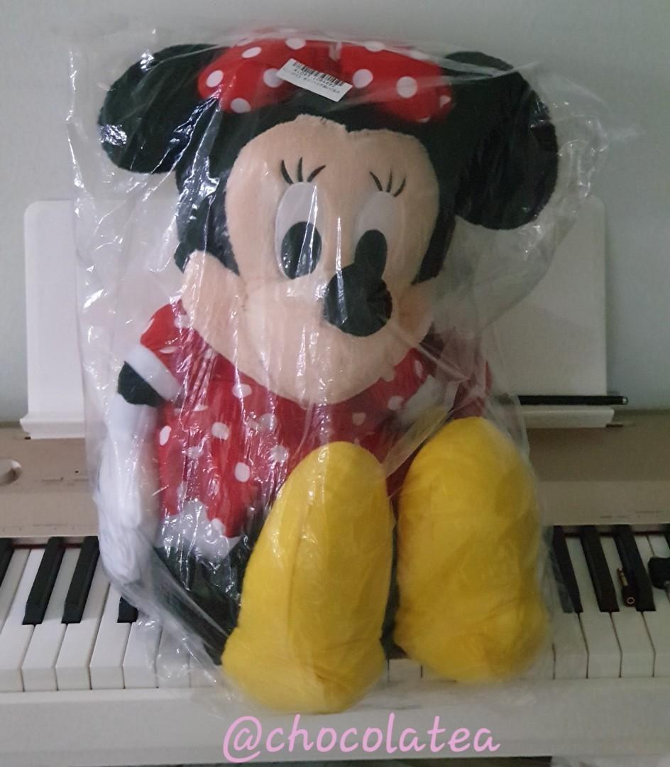 [IN-STOCK] Authentic Minnie Mouse Plush from Japan