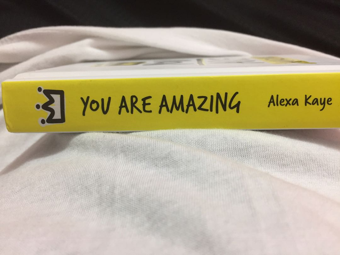Quote book(You Are Amazing)