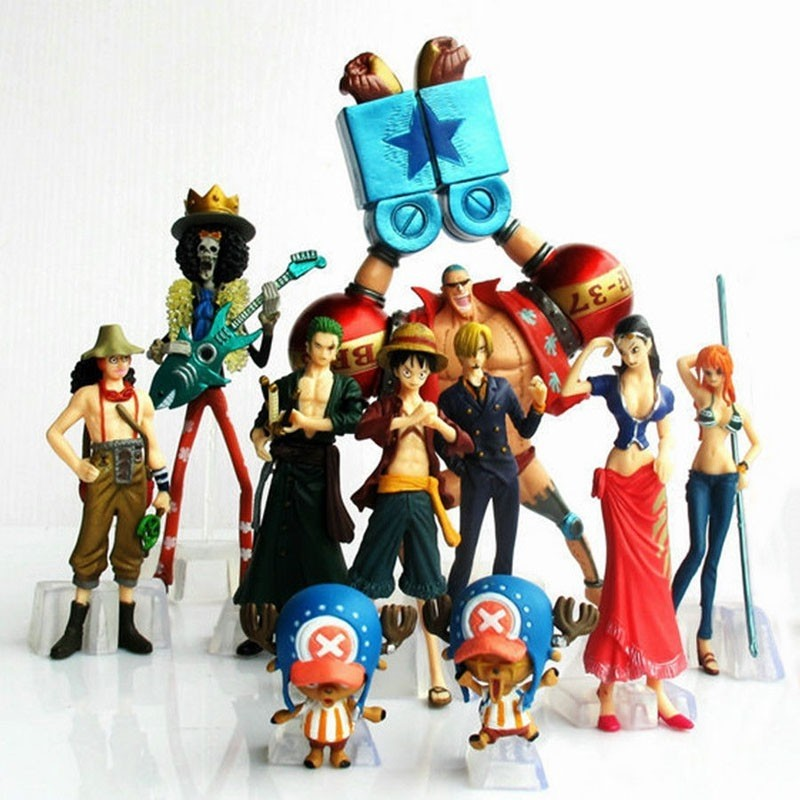 10pcs/set one price anime action figure
