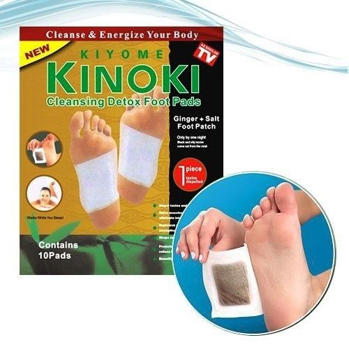 KINOKI GINGER DETOX FOOT