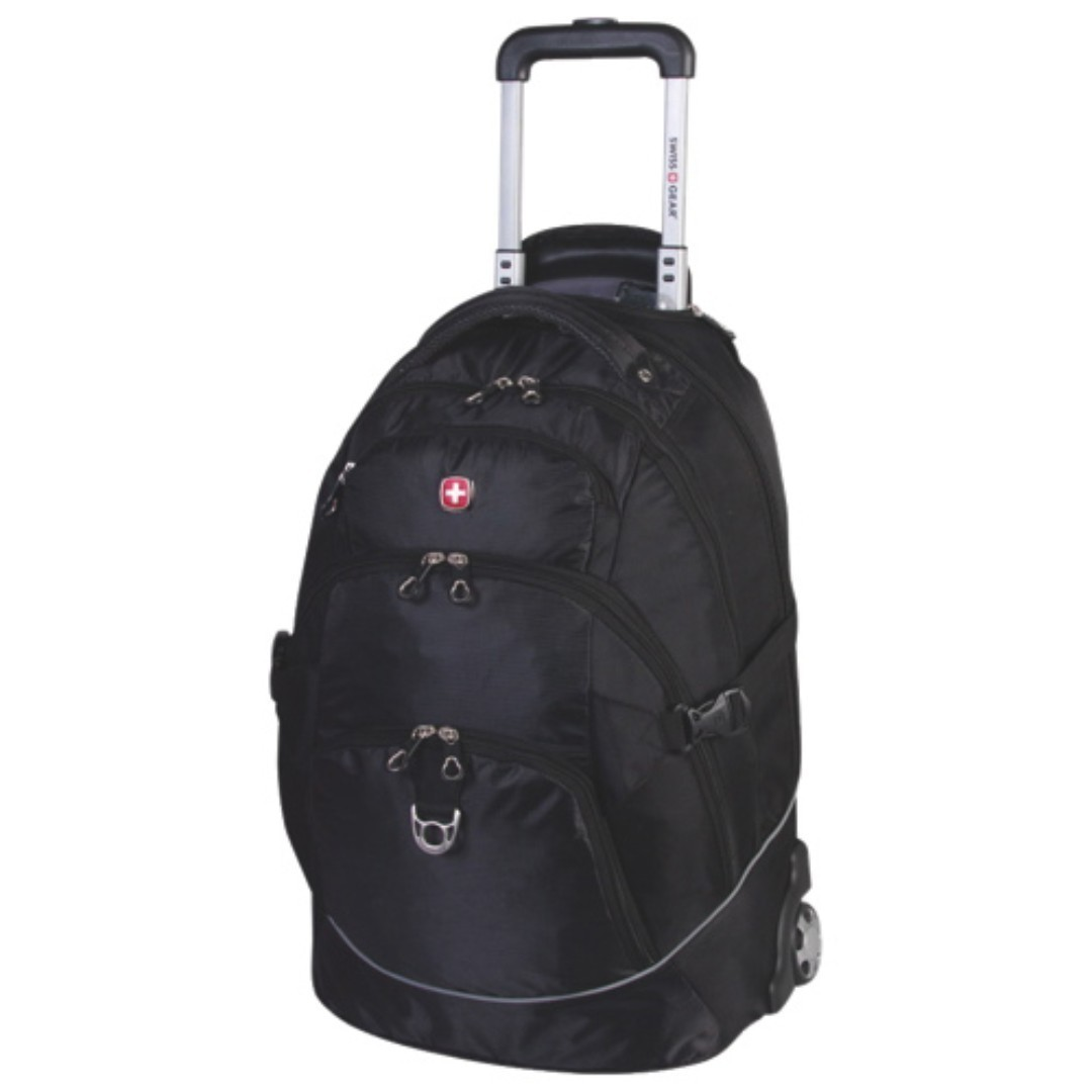 Swiss Gear 15.6 2-Wheeled Laptop Backpack (SWA2107)