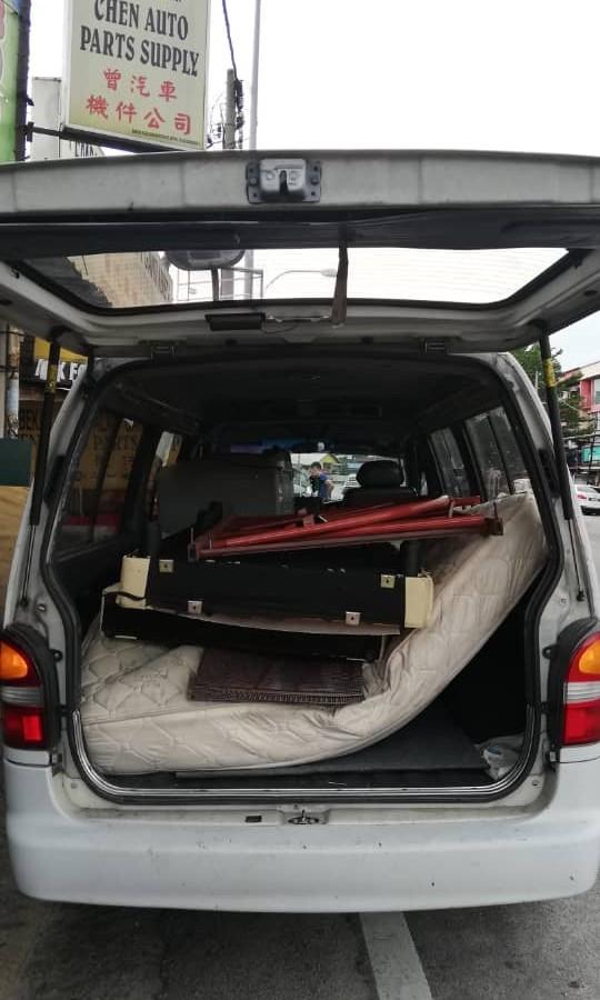 pindah rumah? pindah office? mover, transport, delivery, van pickup