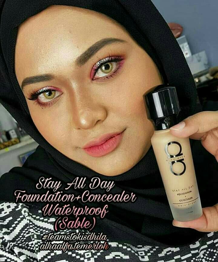 alha alfa stay all day foundation & concealer