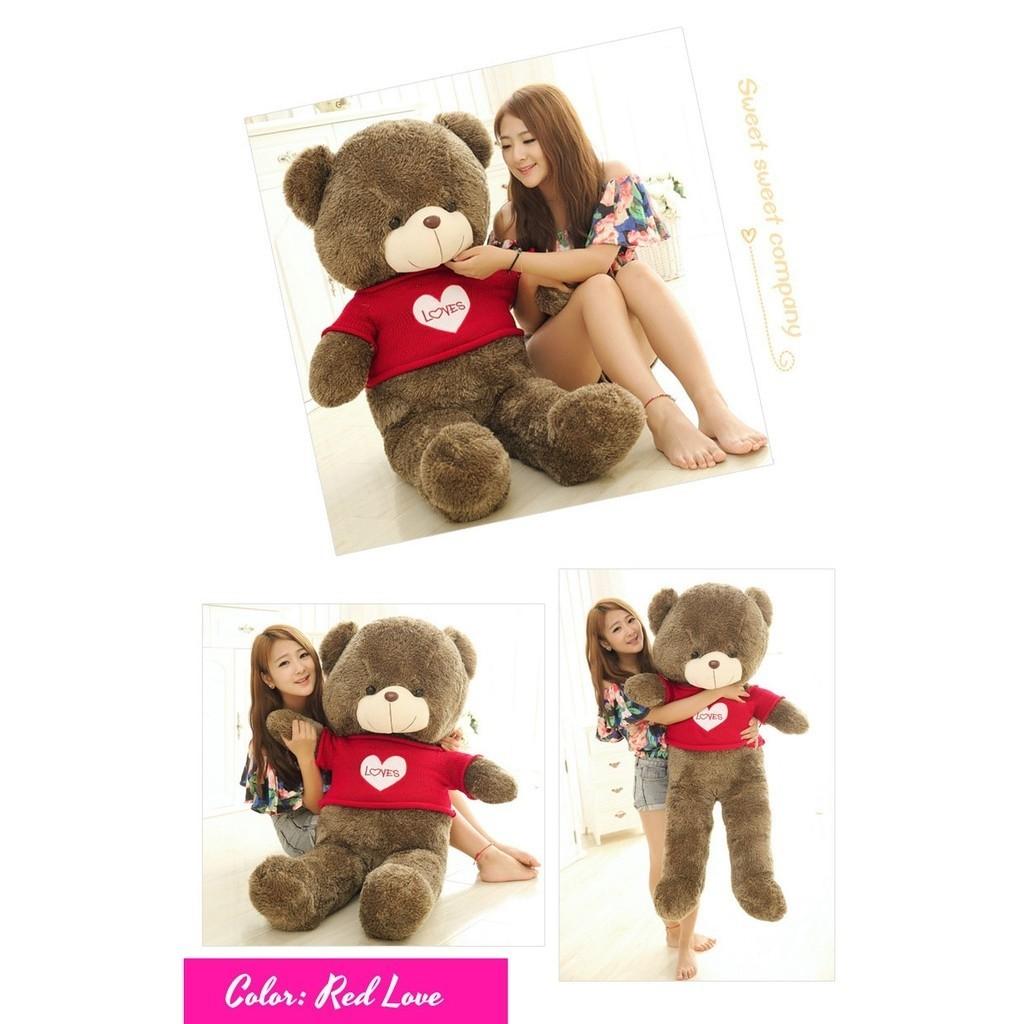Ready stock 100cm cute teddy bear