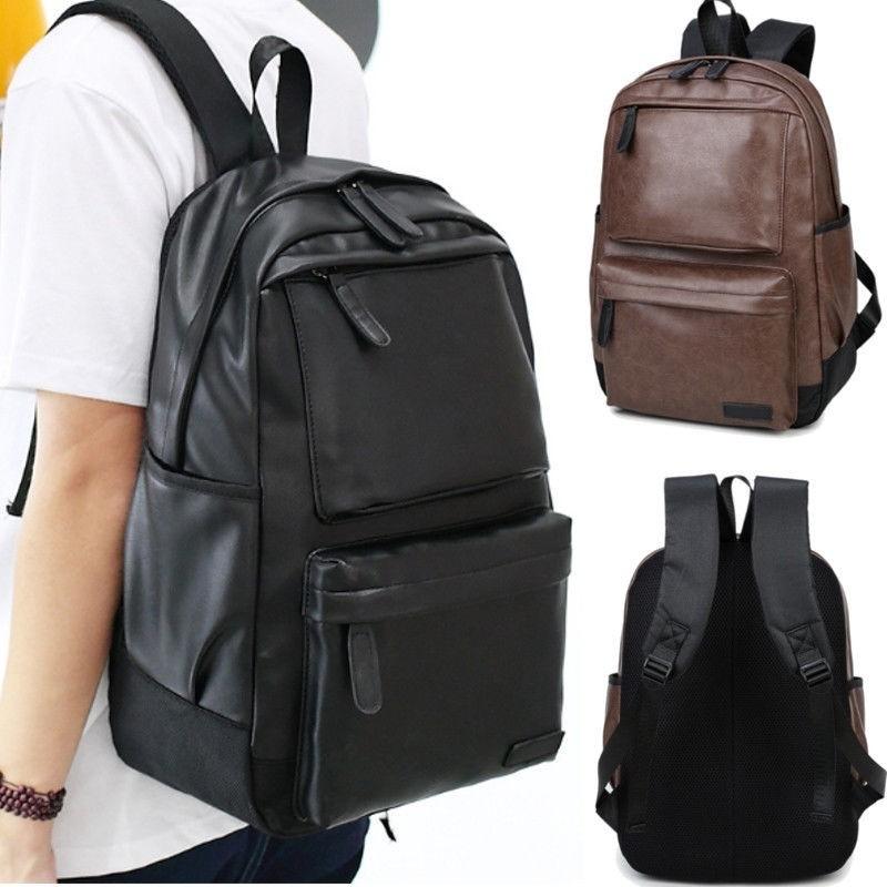 Original Adidas backpack & men unisex high quality leather backpack